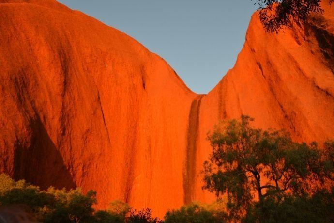 Kantju Gorge on Uluru